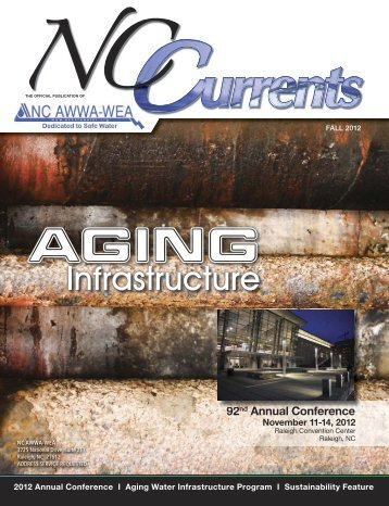 92nd Annual Conference NC AWWA-WEA - Public Documents - NC ...