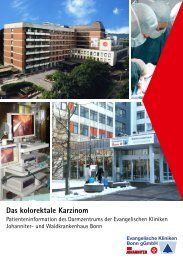 Patientenbroschüre - das kolorektale Karzinom als PDF - Oz-bonn.de