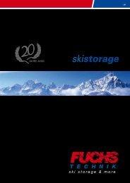 Ski Storage - Fuchs Technik