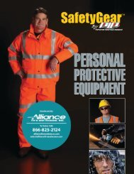 SafetyGear by PIP PPE Catalog - Alliance Fire and Rescue Inc.