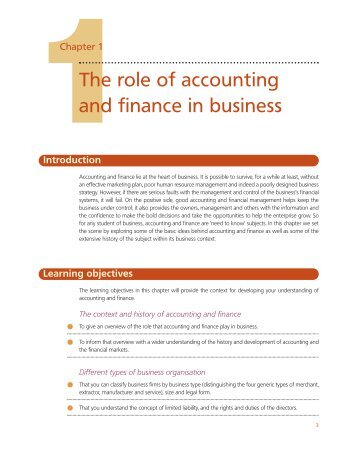 roles and function of accounting 11 this 'charter of the tasks and responsibilities of the accounting officer' ( hereinafter the 'charter') was drawn up in accordance with the.