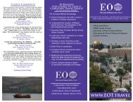 printable version - Educational Opportunities Tours