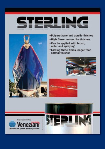 The STERLING LACQUER COMPANY - Veneziani Yacht Paints