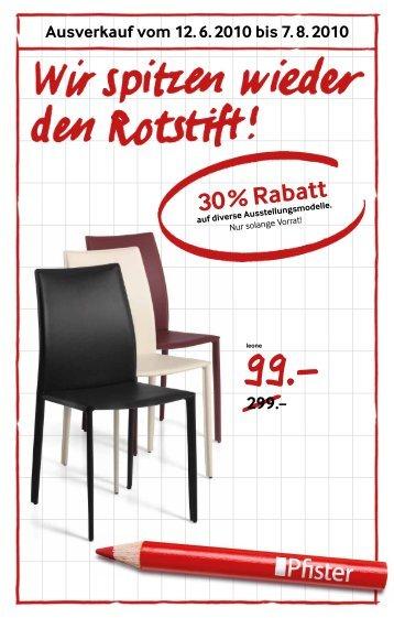 30 30 letzte tage m bel hubacher. Black Bedroom Furniture Sets. Home Design Ideas
