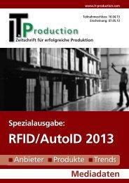 RFID/AutoID 2013 - IT&Production;