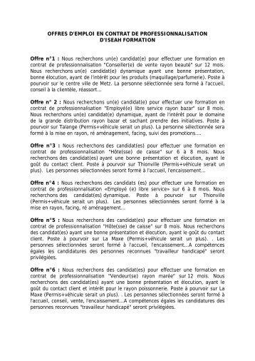 Notice Pour Le Contrat De Professionnalisation Formulaires En Ligne