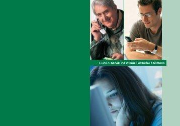 Guida ai Servizi via internet, cellulare e telefono