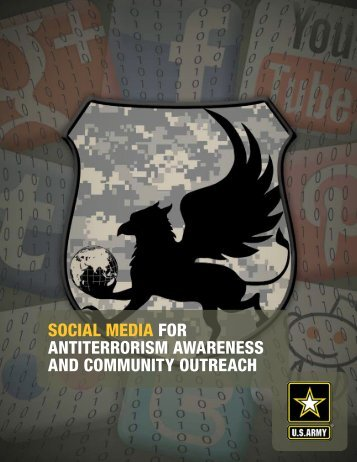 social media for antiterrorism awareness and - Army OneSource