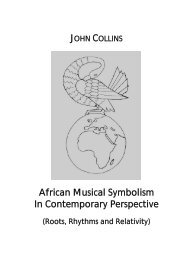 African Musical Symbolism In Contemporary Perspective - Saoas.org