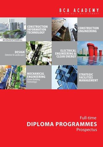 DIPLOMA PROGRAMMES - BCA Academy