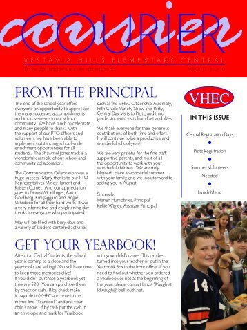 May 2013 - Vestavia Hills City Schools