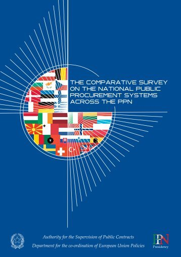 The Comparative Survey on Public Procurement Systems across the ...