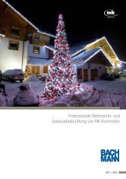 und Gebäudebeleuchtung von MK Illumination - Bachmann GmbH ...