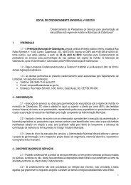 EDITAL DE CREDENCIAMENTO UNIVERSAL nº 002/2010 - AMMOC