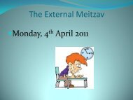 The External Meitzav