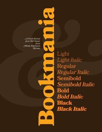 Light Italic - Fontblog