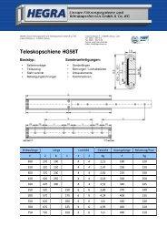 HG58T Deutsch_a - Hegra Linear GmbH