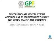 mycophenolate mofetil versus azathioprine as ... - HTAi 2011