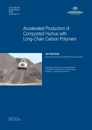 Accelerated Production of Composted Humus with Long-Chain ...