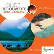 brochure - Ile de La Réunion Tourisme