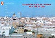 Actualisation du plan de circulation de la Ville de Tunis - Euromedina