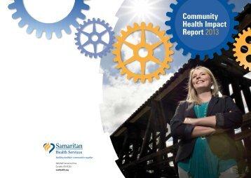 Annual Report - Samaritan Health Services