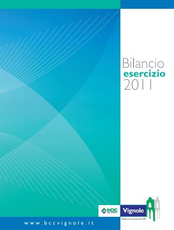 2011_Bilancio_esercizio_BCC_Vignole - BCC Vignole