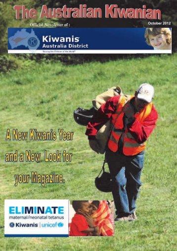 Official Newsletter of : - Kiwanis