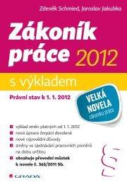 Zákoník práce 2012 s výkladem - eReading