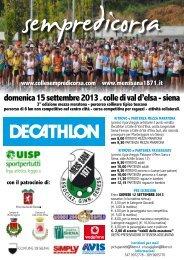 domenica 15 settembre 2013 . colle di val d'elsa - siena - Runners.it