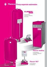 Flamco Pomp expansie-automaten