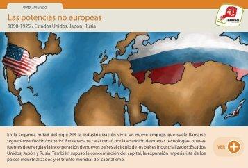 Las potencias no europeas - Manosanta