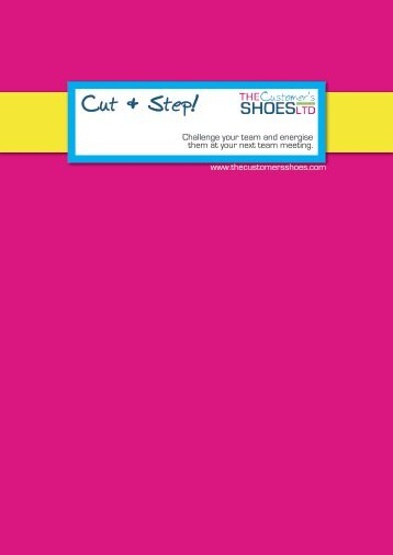 Cut & Step! - The Customer's Shoes