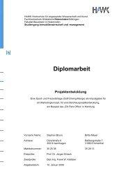 Diplomarbeit - MeineSelbstaendigkeit.com