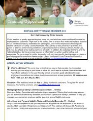 Training Opportunities - Montana Chamber of Commerce