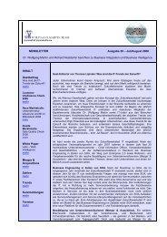 NEWSLETTER Ausgabe 39 – Juli/August 2008 Dr. Wolfgang Martin ...