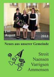 Neues aus unserer Gemeinde - kirche-naensen.de