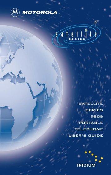 Motorola 9505 User Guide - Roadpost