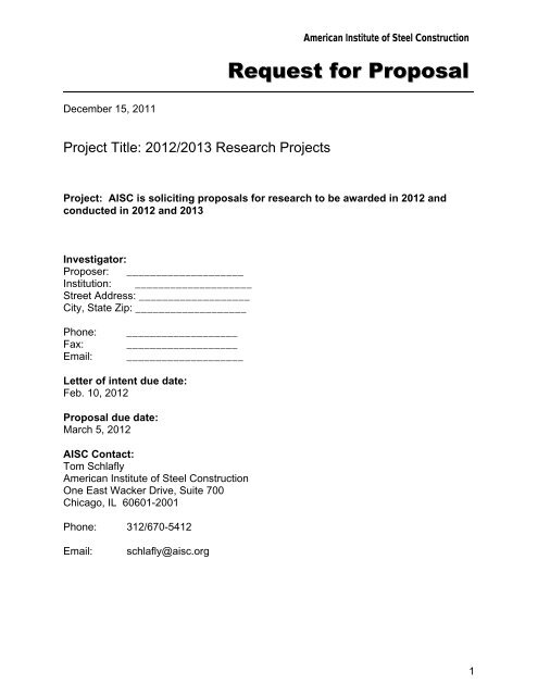 Request For Proposal Letter from img.yumpu.com