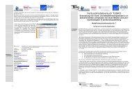 Info-07: .... Thema: Lernende Organisation - Modellversuch TUSKO