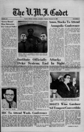 The Cadet. VMI Newspaper. February 15, 1963 - New Page 1 ...