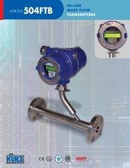 in-line mass flow transmitters - YAGA