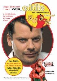 Ausgabe Oktober 2007 Com ::: GRATIS - Wir sind Comedy