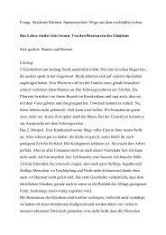 Download Vortrag Reiner (PDF) - Evangelische Akademie Kärnten
