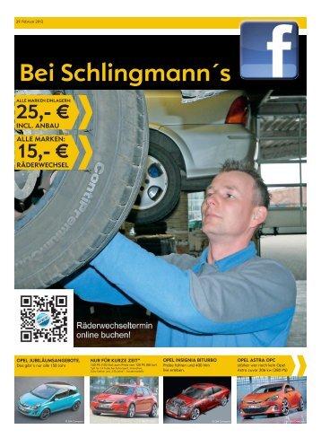 schon ab 29.900 - Autohaus Schlingmann in Waren/Müritz