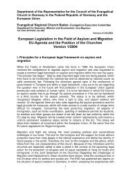 European Legislation in the Field of Asylum and Migration EU ...