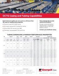 12-JMC-0252 datasheet energex casing tubing ... - Wheatland Tube