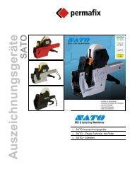 SATO Auszeichnungsgeräte SATO – Ersatz-Farbrolle, Ink-Roller ...