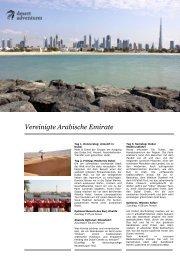 Vereinigte Arabische Emirate Rundreise zu den ... - Reisefieber