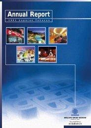 Annual Report - Berjaya Corporation Berhad